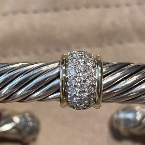 David Yurman Jewelry - David Yurman Bracelet with diamonds